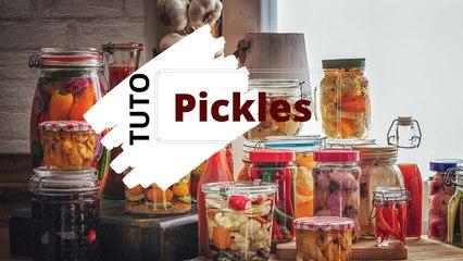 Cuisiner des pickles de légumes