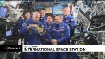 Italian astronaut Luca Parmitano returns to earth, after six-month ISS stay
