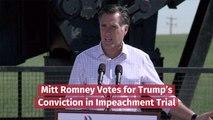 Mitt Romney At The Impeachment Trial