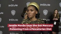 Janelle Monae Got Sick From A Pescatarian Diet