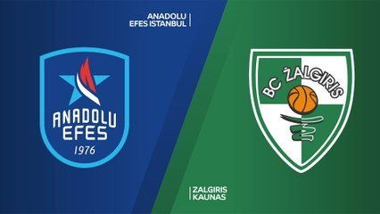 EuroLeague 2019-20 Highlights Regular Season Round 24 video: Efes 96-91 Zalgiris