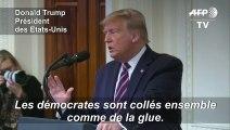 """Acquitté, Trump dénonce la """"méchanceté"""" de ses adversaires démocrates"""