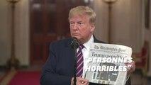Donald Trump fête son acquittement en s'en prenant à ses adversaires
