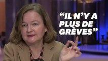"""""""Il n'y pas plus de grèves en France"""" selon Loiseau. Sauf que..."""