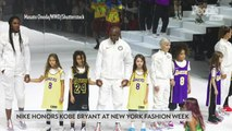 Nike Pays Tribute to Kobe Bryant During New York Fashion Week Show