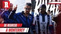 Pizarro regresa a Monterrey