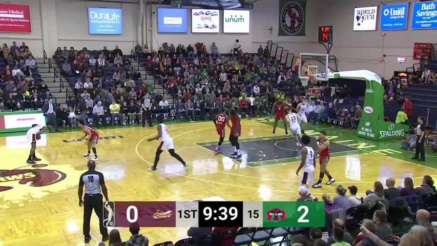 Malik Newman (20 points) Highlights vs. Maine Red Claws