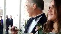 Dulce María y Paco Álvarez finalmente llegaron al altar, as´í los captamos