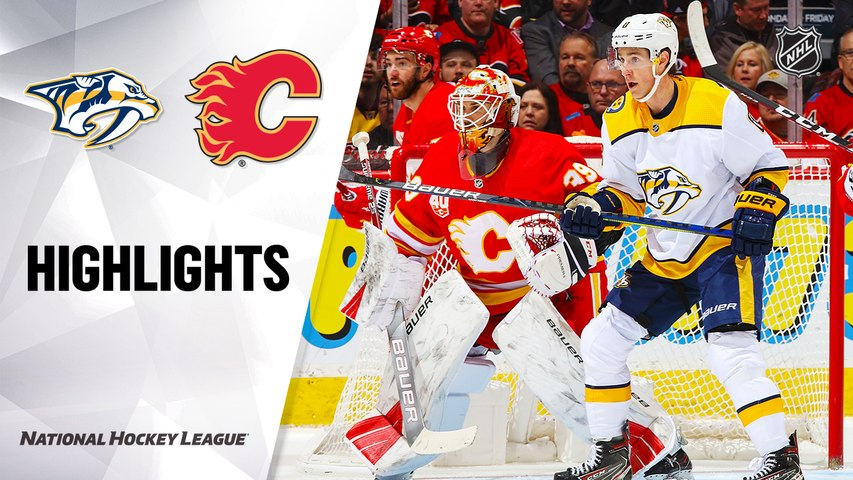 NHL Highlights | Predators @ Flames 2/06/20
