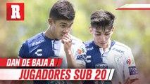 Pachuca dio de baja a tres jugadores de la Sub 20, tras involucrarse en accidente automovilístico