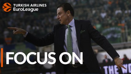 Rick Pitino, Panathinaikos: 'I call it PHD'