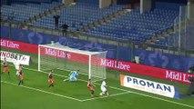Montpellier - Metz, Farid Boulaya Grenat du match