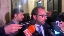 Bonafede - Dichiarazioni alla stampa alla fine del vertice sulla giustizia (06 0)