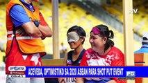 Aceveda, optimistiko sa 2020 ASEAN para shot put event
