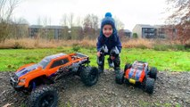 X MAXX & MAXX RC TOYS from TRAXXAS fun playtime in WATER