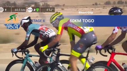 Saudi Tour 2020 - Étape 4 / Stage 4 - 60km to go