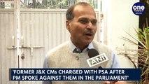 Adhir Ranjan hits out at PM Modi over PSA slapped against Omar Abdullah & Mehbooba Mufti