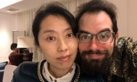 British resident of Wuhan: 'Government won't let my wife leave with me' - video