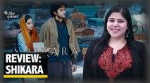 Shikara Review: RJ Stutee Ghosh Reviews Vidhu Vinod Chopra's latest film on Kashmiri Pandits.