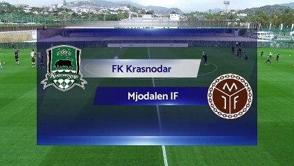 RELIVE: FK Krasnodar v Mjondalen IF