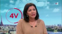 La maire Anne Hidalgo explique - très sérieusement - que la circulation a baissé à Paris et qu'il n'y a pas plus de bouchons qu'avant - VIDEO