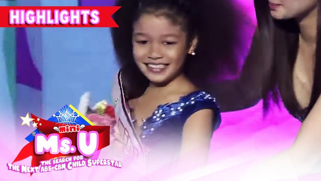 Thea Bethell wins as Mini Miss U of the day | It's Showtime Mini Miss U