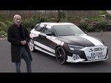Audi A3 Sportback prototype (2020) à l'essai