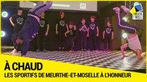 La bonne santé du sport en Meurthe-et-Moselle:les sportifs étaient à l'honneur au Département