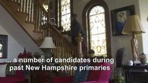 In a home storied with campaign lore, a political expert shares insights on New Hampshire primary
