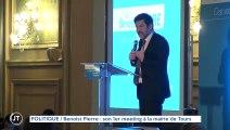 POLITIQUE Benoist Pierre : son 1er meeting à la mairie de Tours
