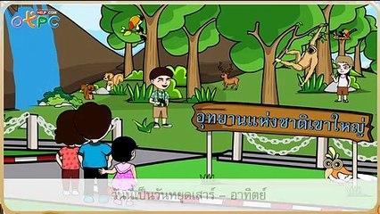 สื่อการเรียนการสอน รักษ์ป่าป.2ภาษาไทย