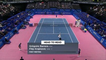 OSDF20 - G. Barrère v F. Krajinovic - Highlights