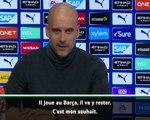Transferts - Guardiola veut voir Messi ''finir au Barça''