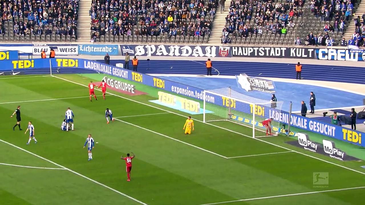 Hertha Berlin - Mainz 05 (1-3) - Maç Özeti - Bundesliga 2019/20