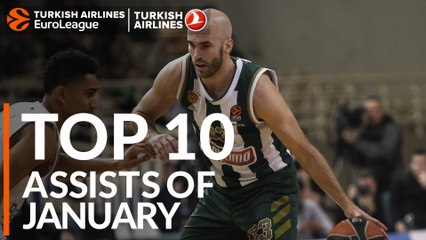 Top 10 Assists of January!
