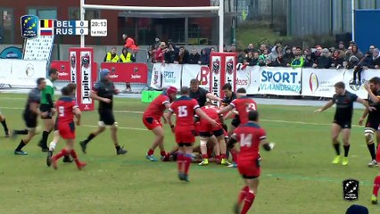 TOP TRIES - ROUND2  - RUGBY EUROPE CHAMPIONSHIP 2020