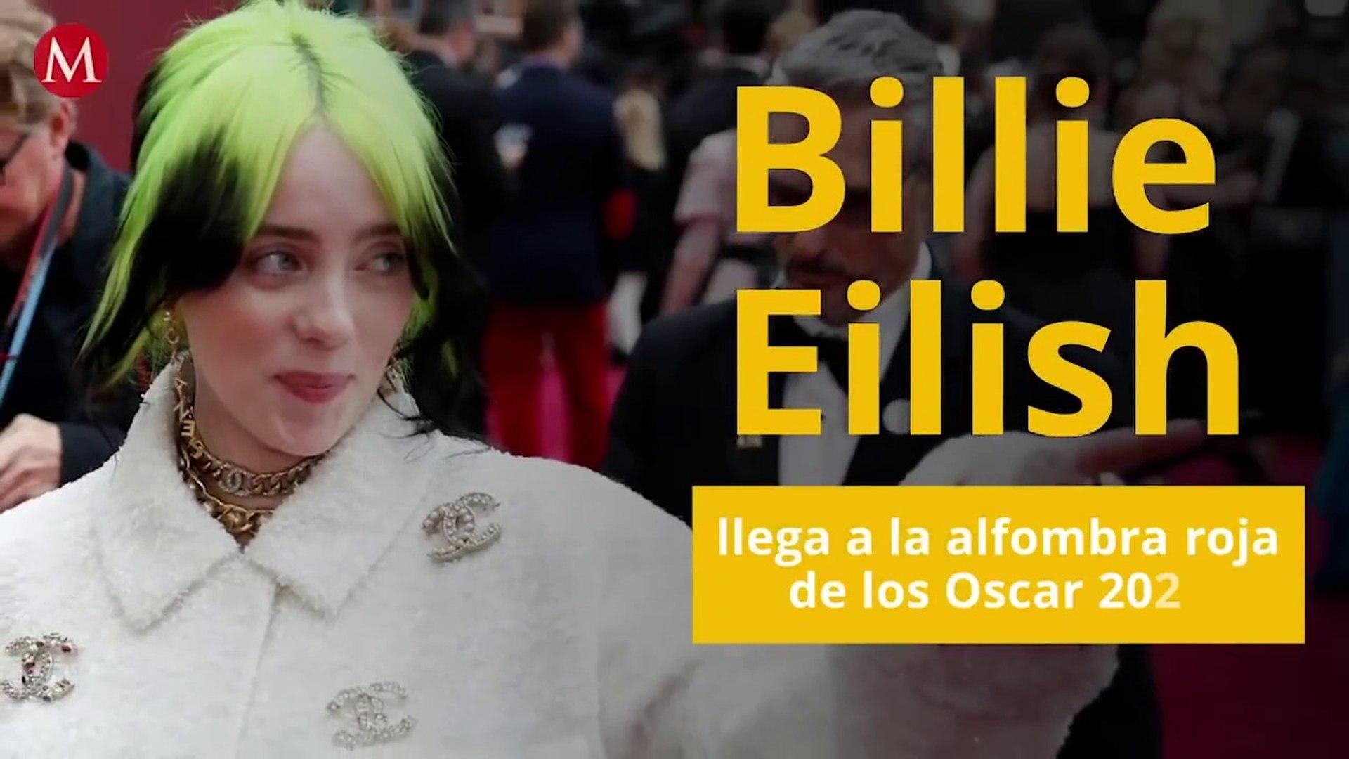 Billie Eilish llega a la alfombra roja de los Oscar 2020