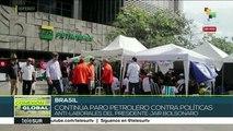 Exigen obreros brasileños en huelga que sean respetados sus derechos