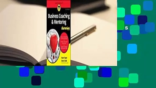 About For Books  Business Coaching & Mentoring for Dummies  For Free