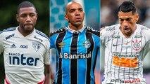 Jogadores sem contrato no futebol brasileiro