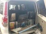 बिधूना कोतवाली पुलिस ने 40 टिन नकली देसी घी पकड़ा, दो लोग  गिरफ्तार