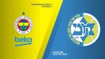 Fenerbahce Beko Istanbul - Maccabi FOX Tel Aviv Highlights   Turkish Airlines EuroLeague, RS Round 24