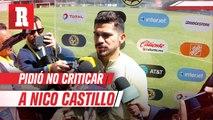 Henry Martín pidió no criticar a Nico Castillo