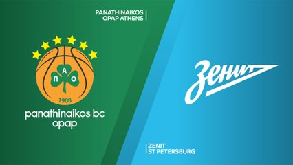 EuroLeague 2019-20 Highlights Regular Season Round 24 video: Panathinaikos 96-81 Zenit