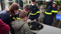 Life inside Europe's coronavirus quarantine centres