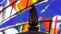 Yann Arthus-Bertrand reçoit un Pyrénées d'honneur lors de la journée climat-environnement du Festival de Télévision de  Luchon
