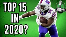 Fantasy Football 2020 - Will Devin Singletary be a Top-15 RB?