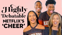 The Cast Of Netflix's 'Cheer' Answers Impossible Questions   Highly Debatable   Good Housekeeping