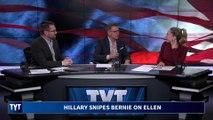 Hillary Clinton Takes Petty Shots At Bernie Sanders