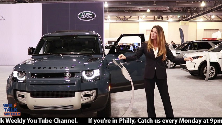 New Land Rover Defender Featured at Philly Auto Show 2020